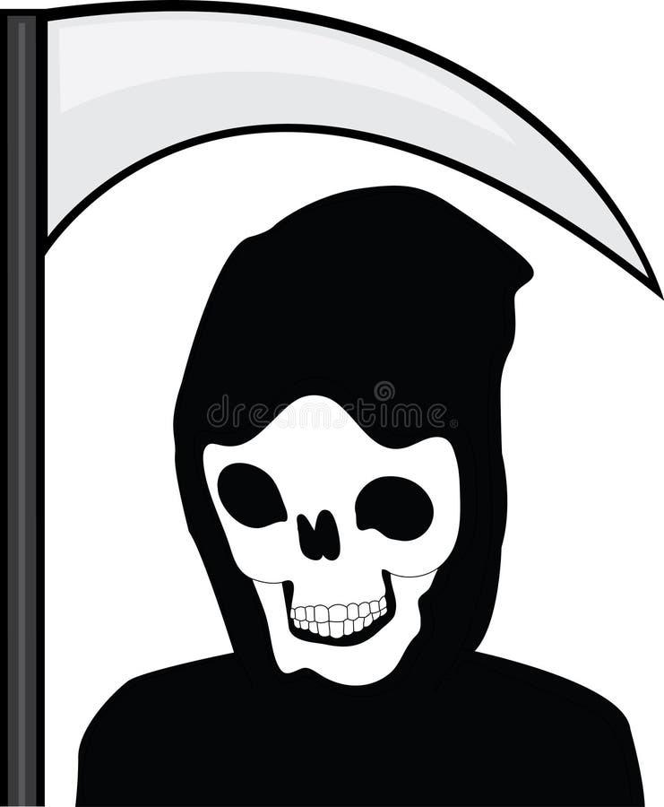 Reaper torvo illustrazione di stock
