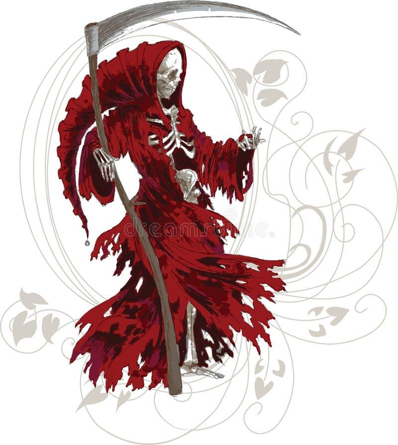 Reaper torvo illustrazione vettoriale
