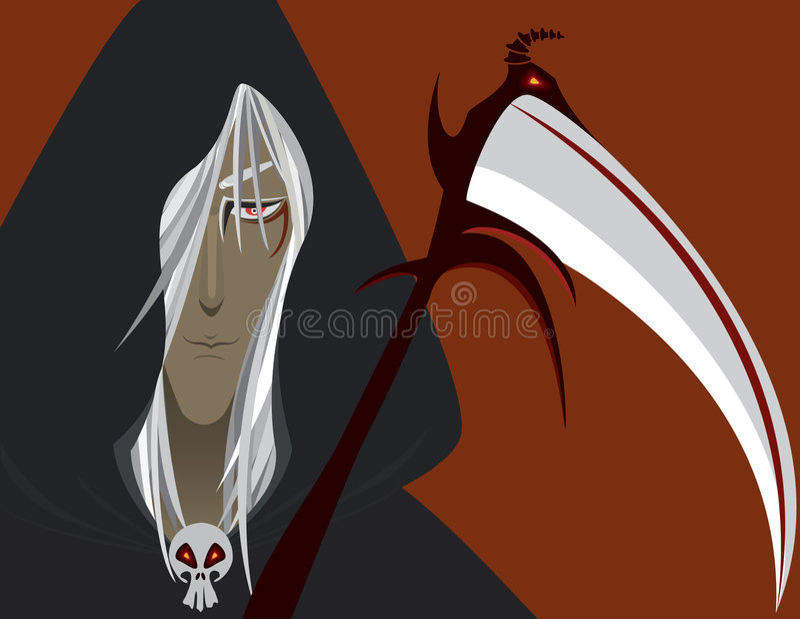 Reaper torvo immagini stock