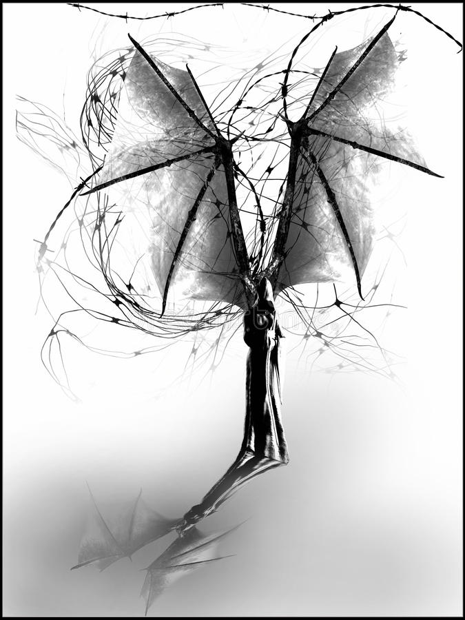 Reaper torvo royalty illustrazione gratis
