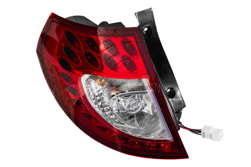 Rear car lights royalty free stock images