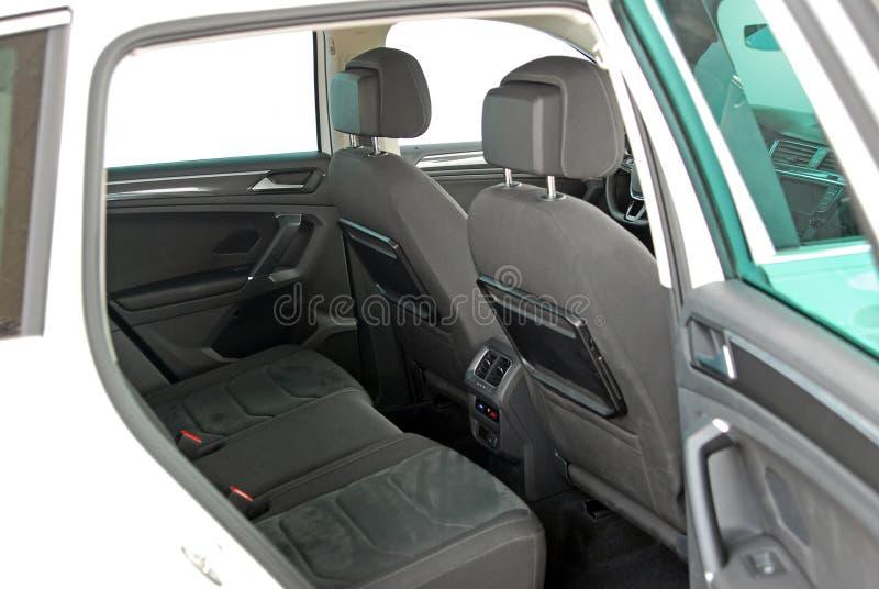 Rear car seat royalty free stock image