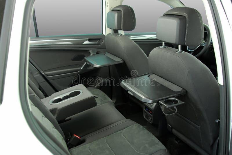 Rear car seat stock photos