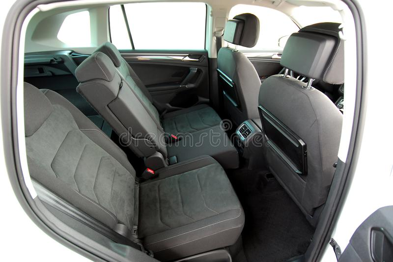 Rear car seat royalty free stock photography