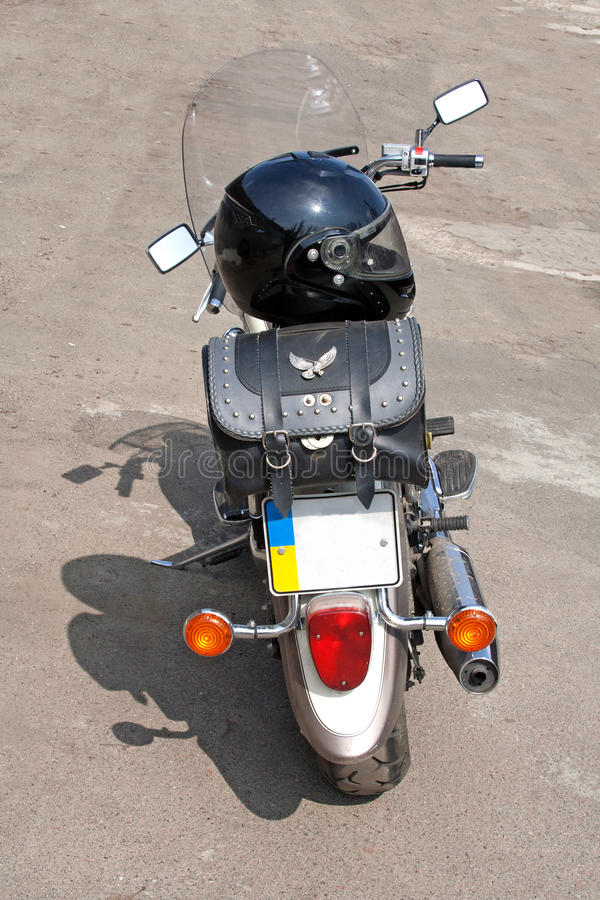 Rear Of Chopper Stock Photography