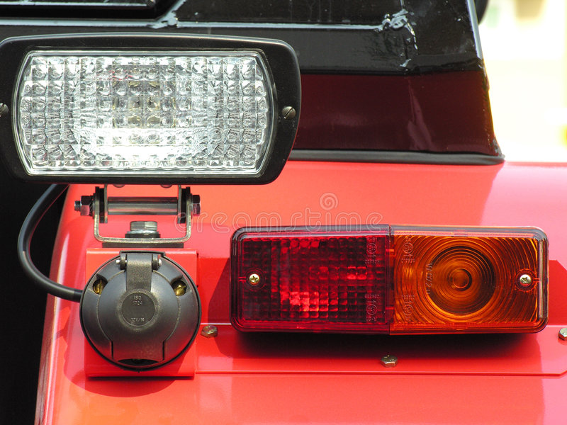 Rear lamp royalty free stock images