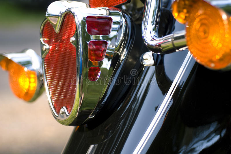 Download Rear light stock photo. Image of part, metal, engineering - 26814422