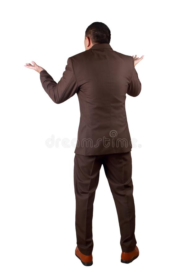 I Dont Know Gesture stock photos