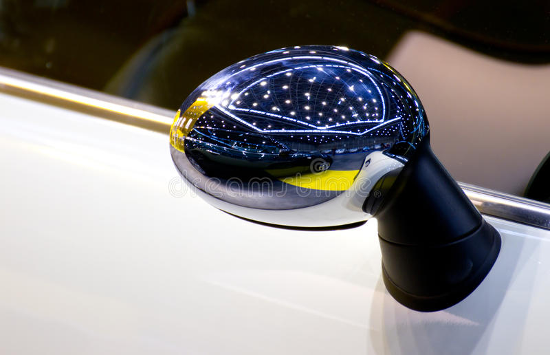Download Rear-view mirror stock image. Image of shiny, clean, mirror - 24520409