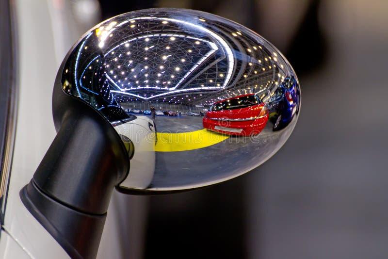 Download Rear-view mirror stock image. Image of lights, door, clean - 24574665