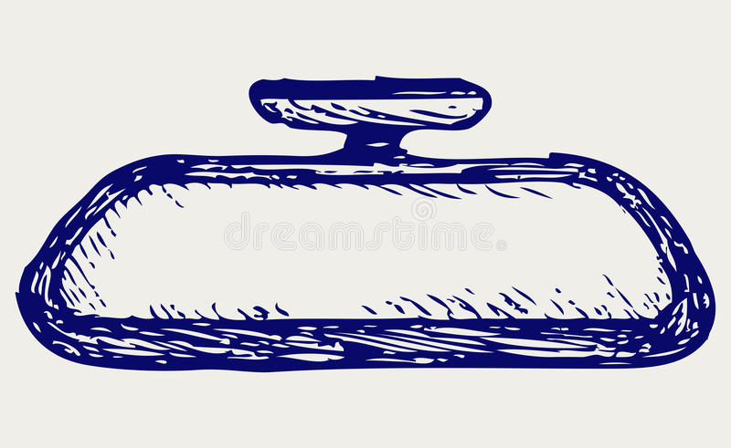 Download Rear-view mirrors stock vector. Illustration of doodle - 28588325