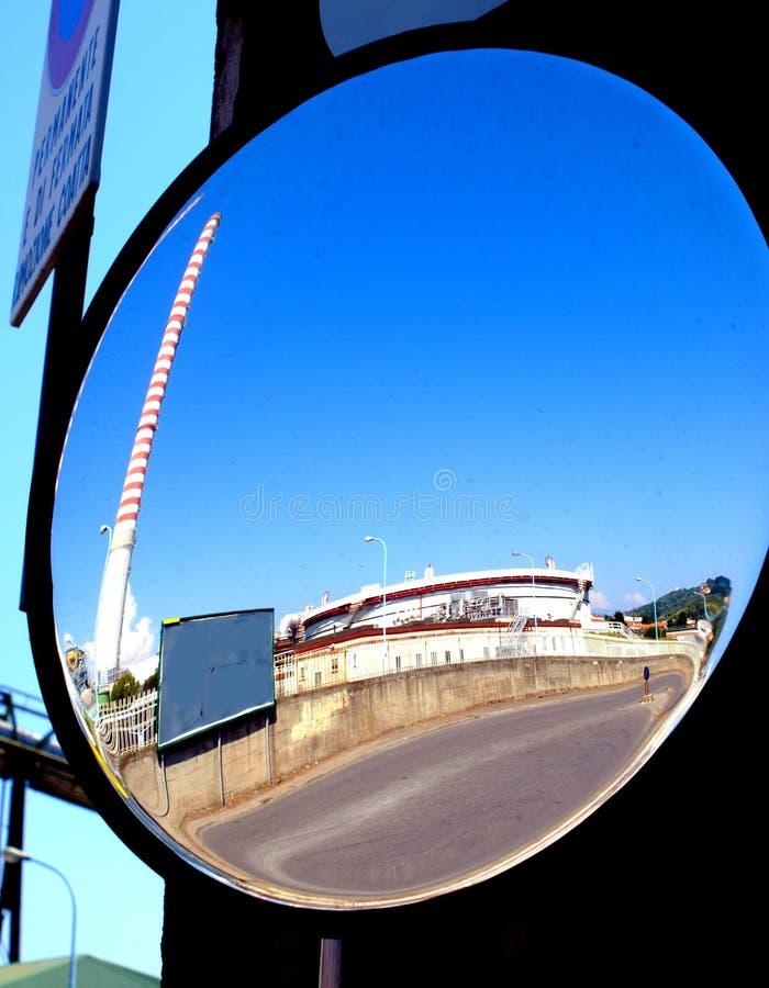 Rear-view Spiegel stockfoto