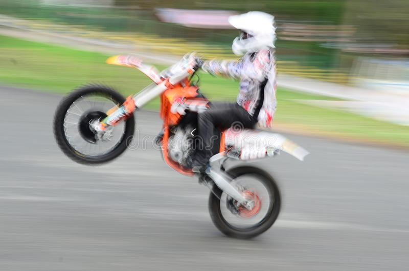 Download Rear wheel ride stock photo. Image of biker, drive, extreme - 26524090