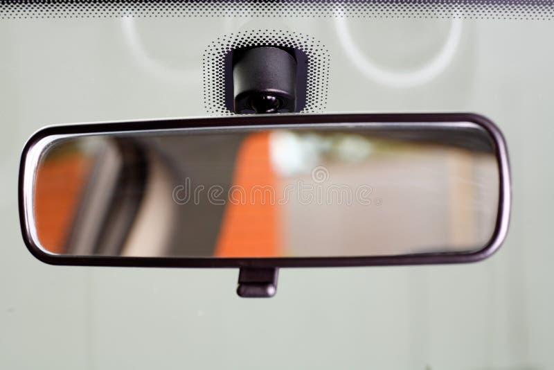 Rearview spiegel stock afbeeldingen