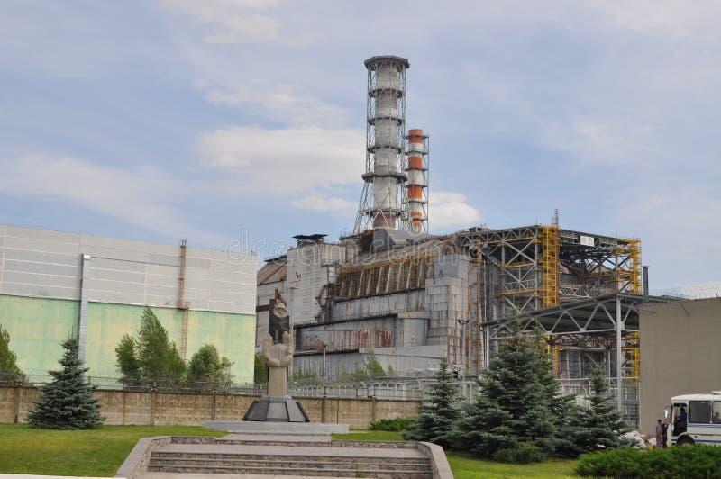 Reator em Chernobyl Ucrânia fotos de stock