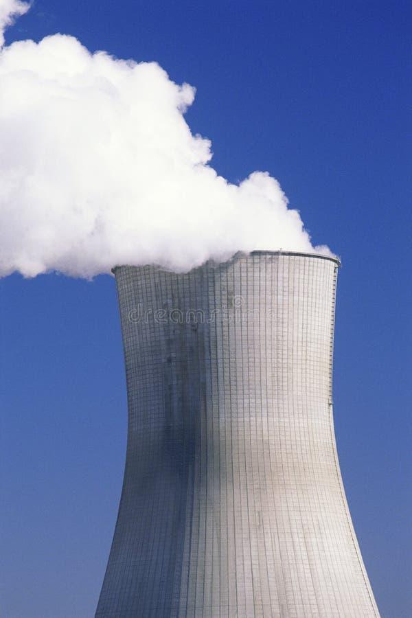 Reattore della centrale nucleare immagine stock