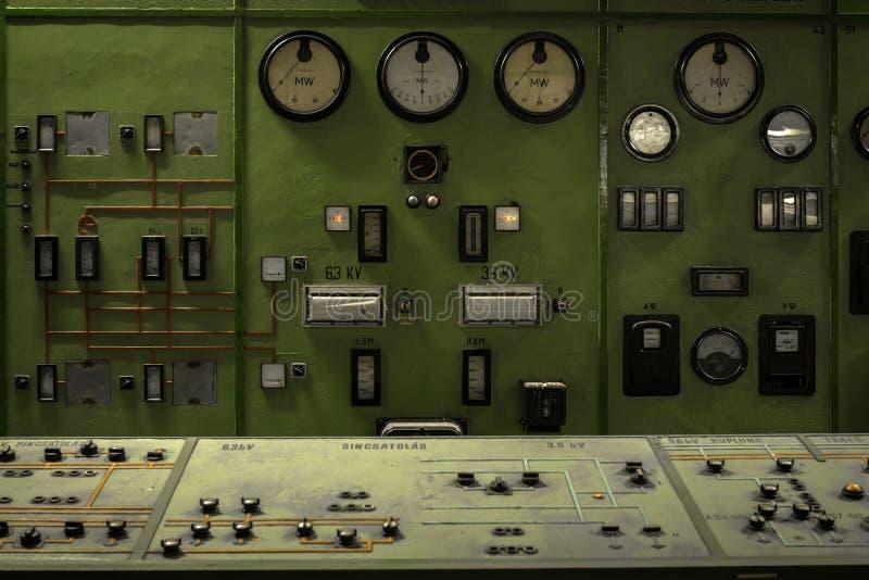 Reattore nucleare in un istituto di scienza fotografia stock libera da diritti