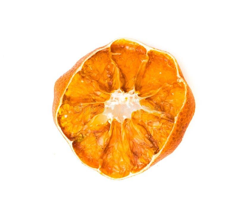 Rebanada anaranjada seca foto de archivo libre de regalías