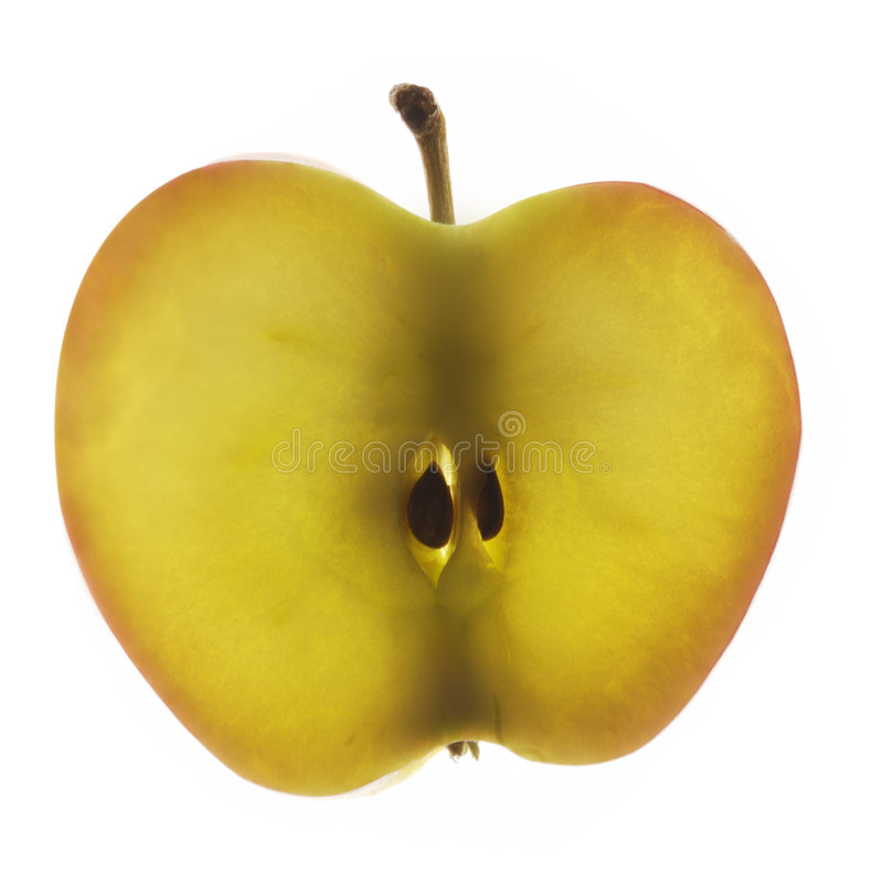 Rebanada de Apple foto de archivo