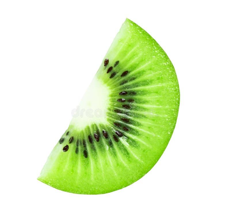 Rebanada de la fruta de kiwi imagenes de archivo