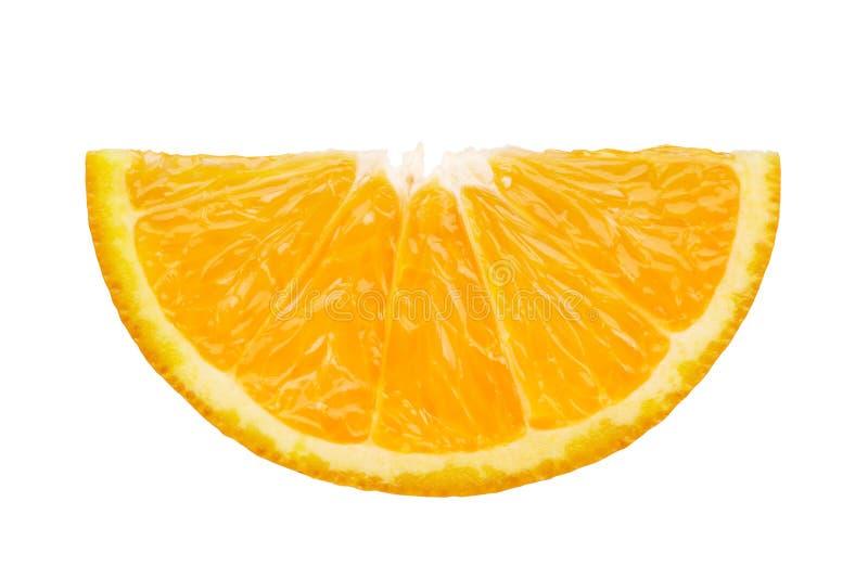 Rebanada de naranja foto de archivo