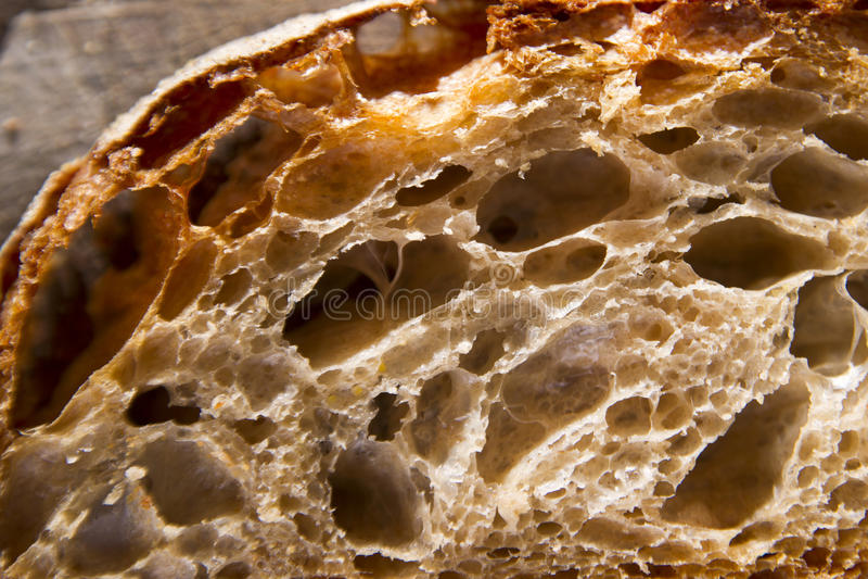 Rebanada de pan imagen de archivo libre de regalías