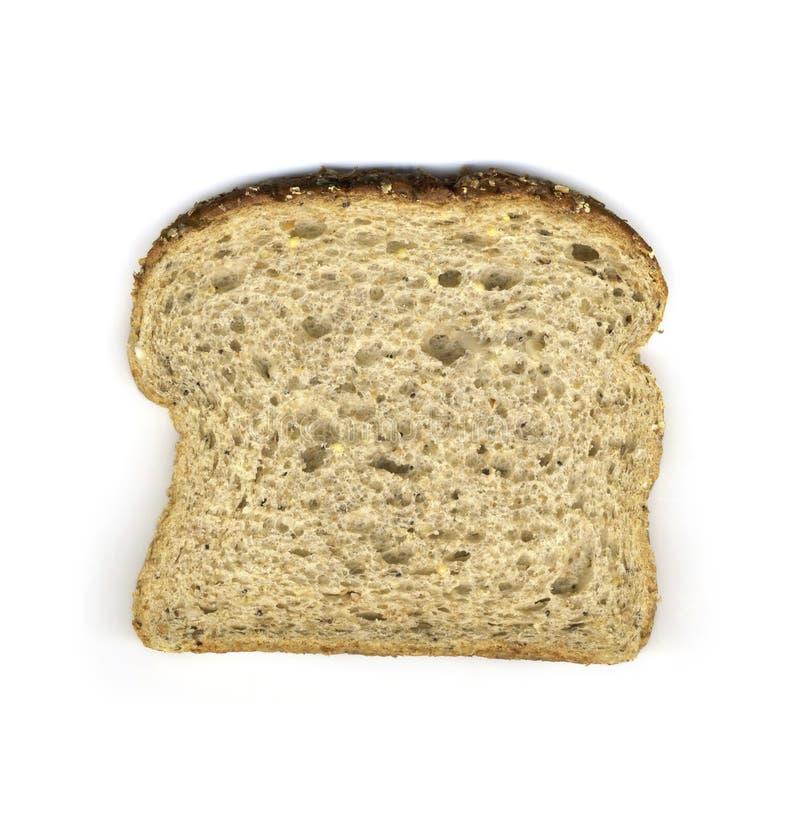 Rebanada de pan del multi-grano imagen de archivo libre de regalías