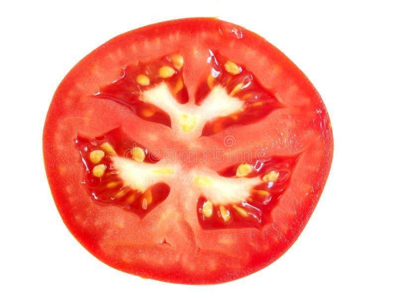Rebanada de tomate imagen de archivo libre de regalías