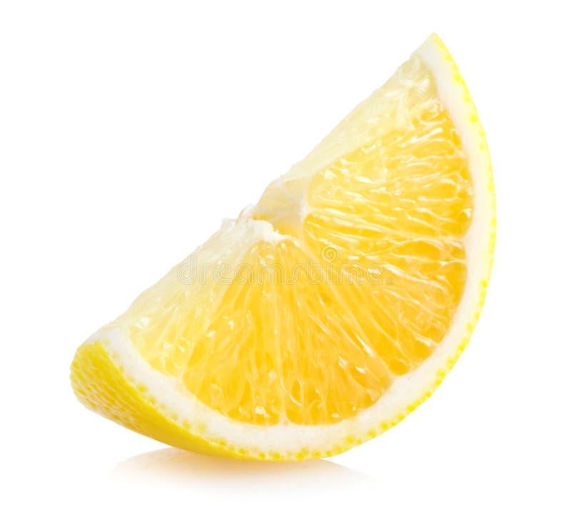Rebanada del limón imágenes de archivo libres de regalías