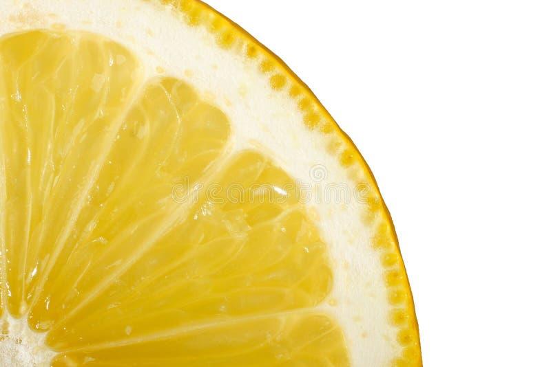 Rebanada del limón fotos de archivo libres de regalías