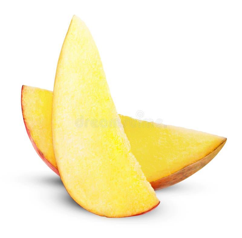 Rebanada del mango fotos de archivo libres de regalías