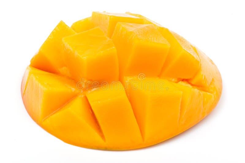 Rebanada del mango imagen de archivo