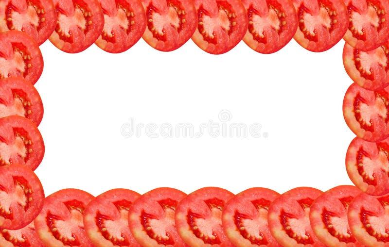 Rebanada del tomate fotos de archivo libres de regalías