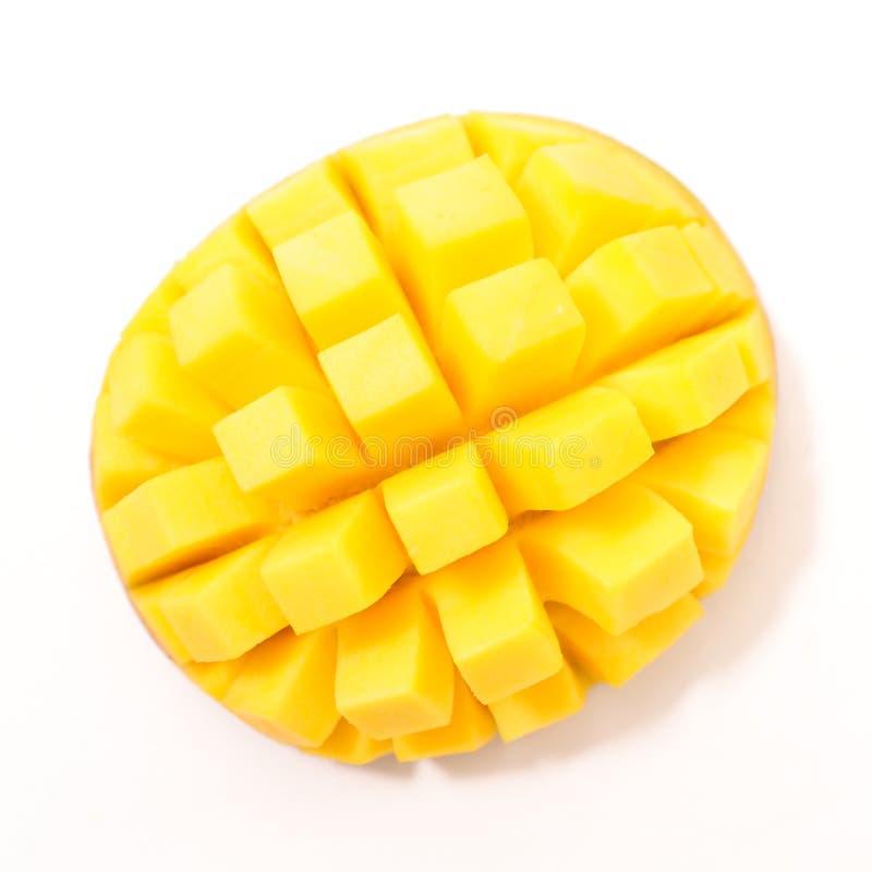 Rebanada fresca del mango fotos de archivo libres de regalías