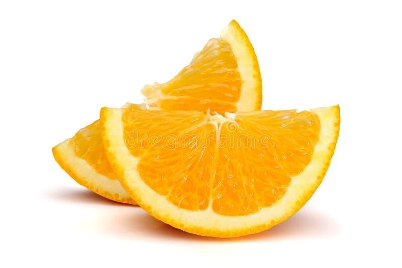 Rebanadas anaranjadas foto de archivo libre de regalías