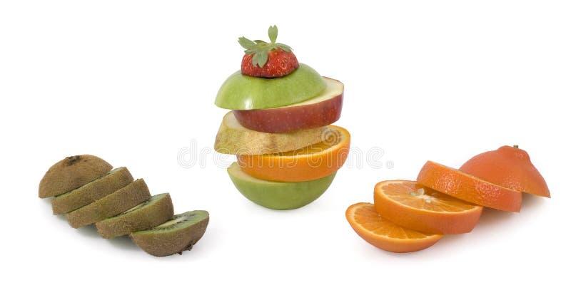 Rebanadas de fruta imagen de archivo libre de regalías
