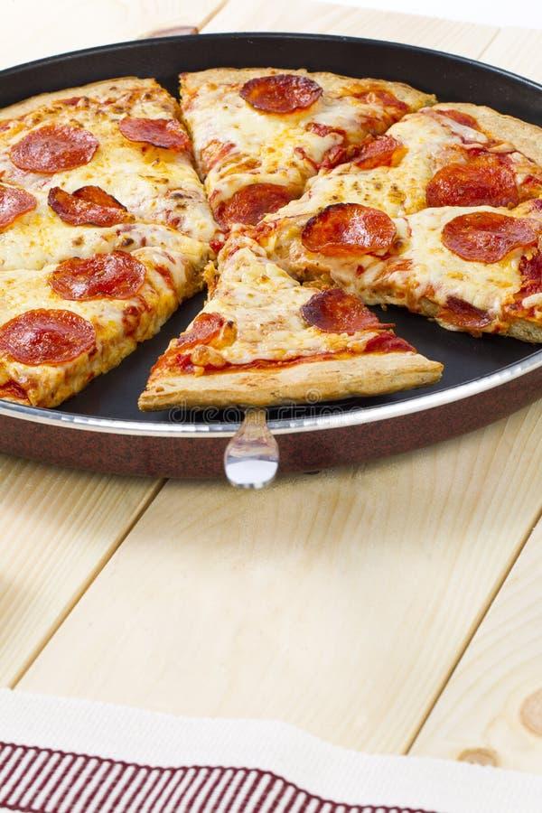 Rebanadas de la pizza foto de archivo libre de regalías