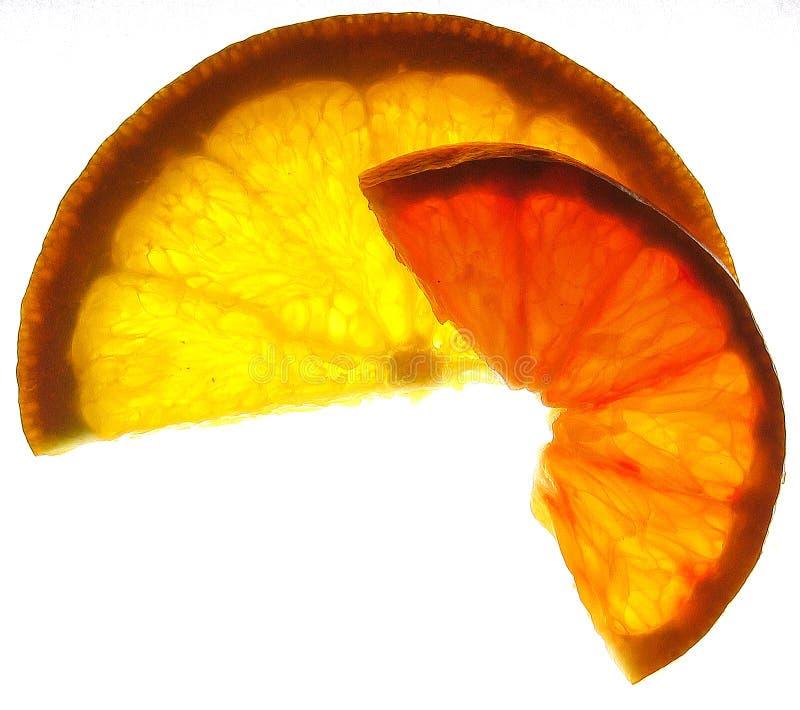 Rebanadas de la vitamina imágenes de archivo libres de regalías
