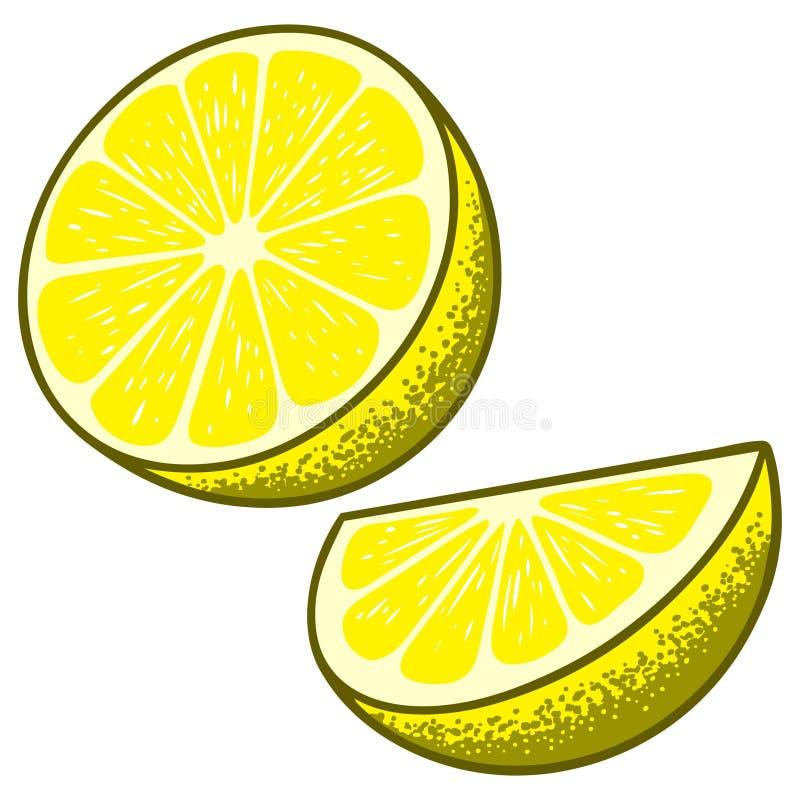 Rebanadas del limón libre illustration