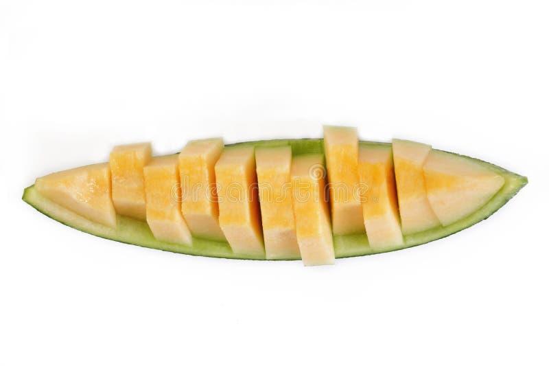Rebanadas del melón imágenes de archivo libres de regalías