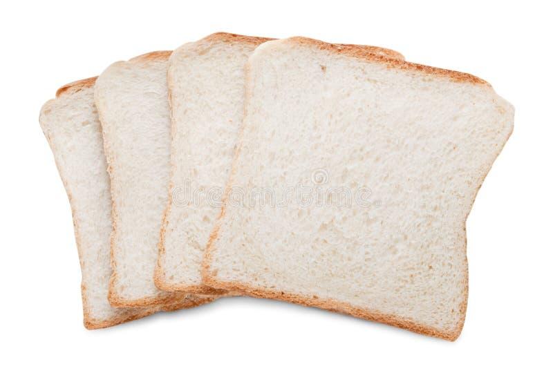 Rebanadas del pan de la tostada fotos de archivo libres de regalías