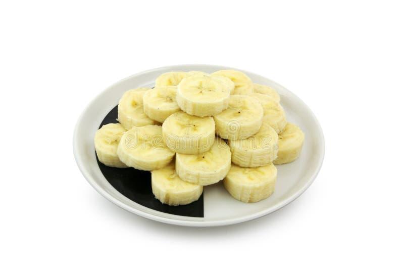 Download Rebanadas del plátano foto de archivo. Imagen de sano - 1299062
