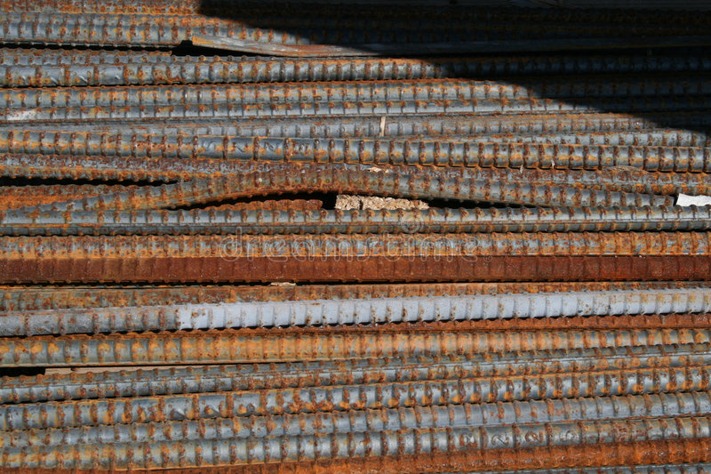 Rebar photos stock