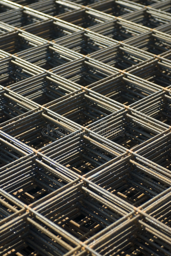 Download Rebar mesh stock photo. Image of brown, construction, support - 1238128