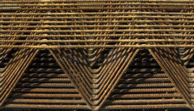 rebar tekstury fotografia royalty free