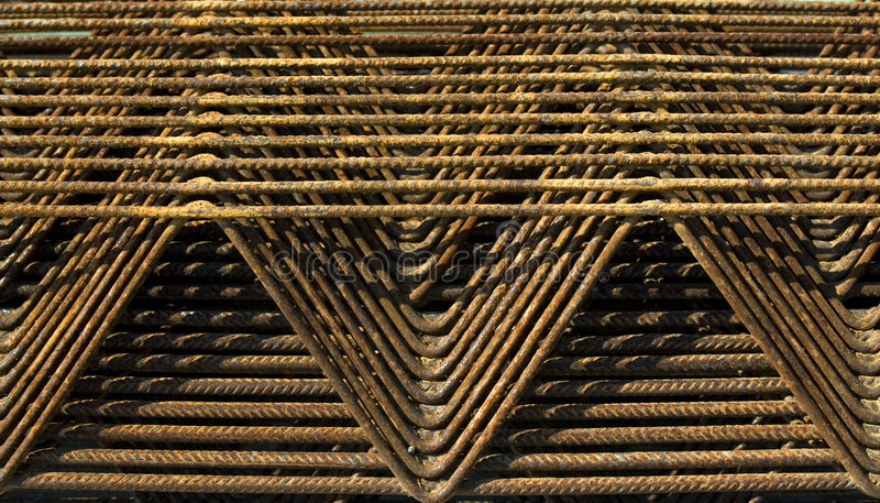 Rebar textures royalty free stock photography