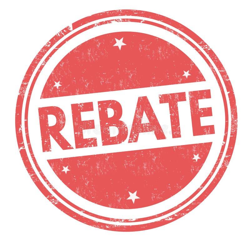 Free Rebate Sign Or Stamp Royalty Free Stock Image - 141317066