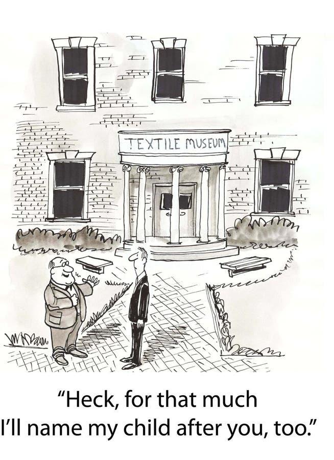 Rebatize a escola ilustração royalty free