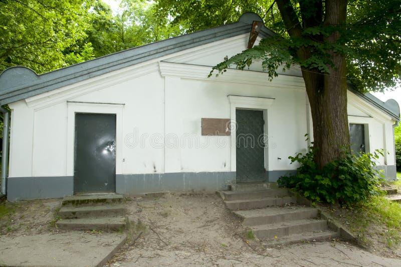 Rebbi Elimelech土窖- Lezajsk -波兰 免版税库存照片