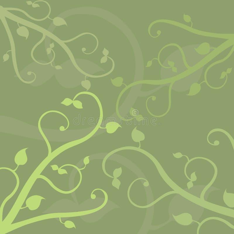 Rebe-Hintergrund stock abbildung